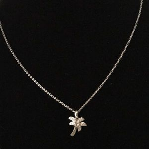 Jewelry - DIAMONIQUE®️BITTY PALM TREE 🌴 NECKLACE